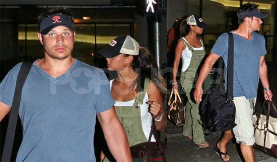 OMG! Nick & Vanessa at LAX!