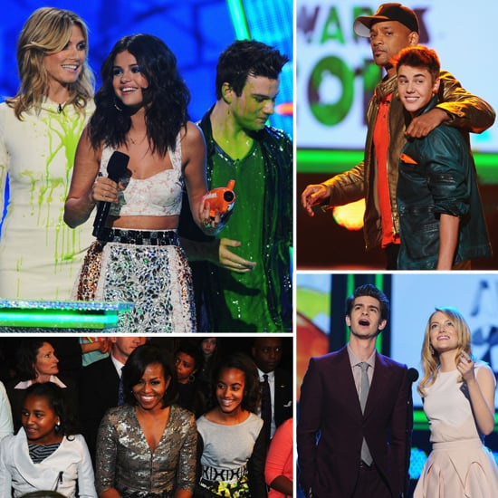 2012 Nickelodeon Kids' Choice Awards Celebrity Show Pictures