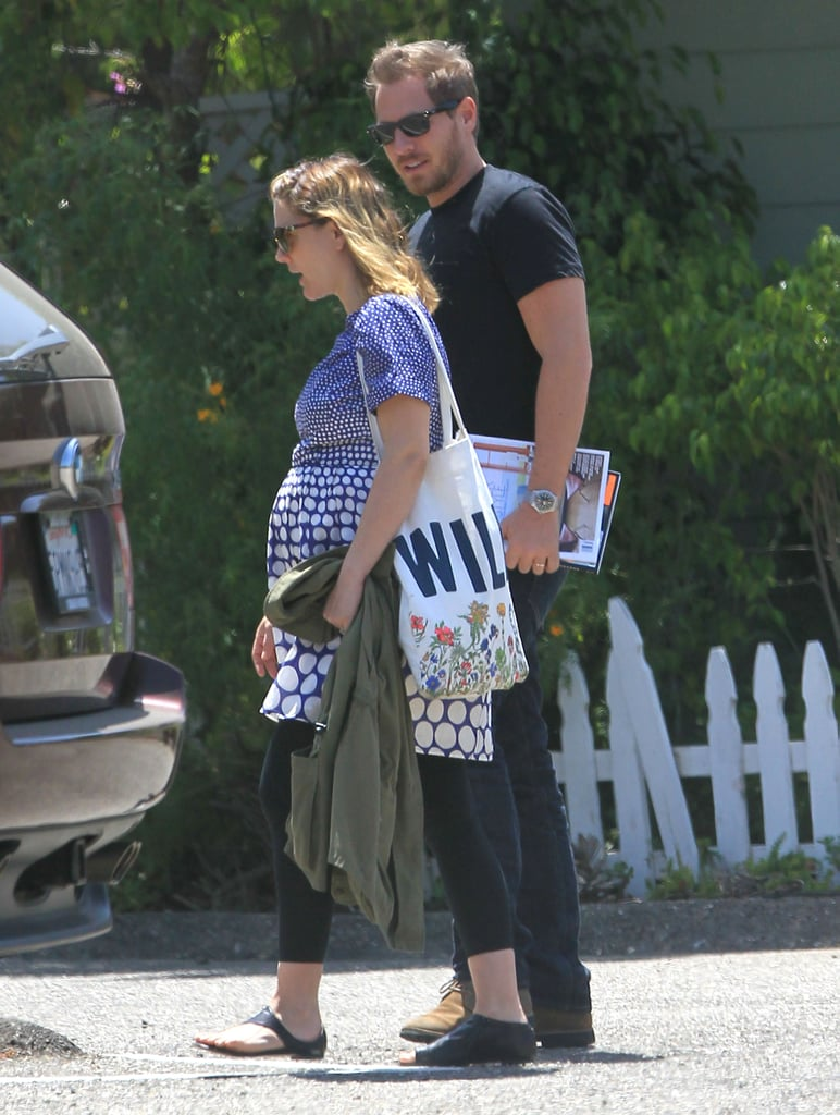 Drew Barrymore and Will Kopelman had lunch out on their honeymoon in Montecito.
