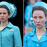 Princess Anne and Erin Doherty