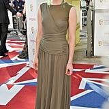 Laura Haddock went for an unusual colour choice.