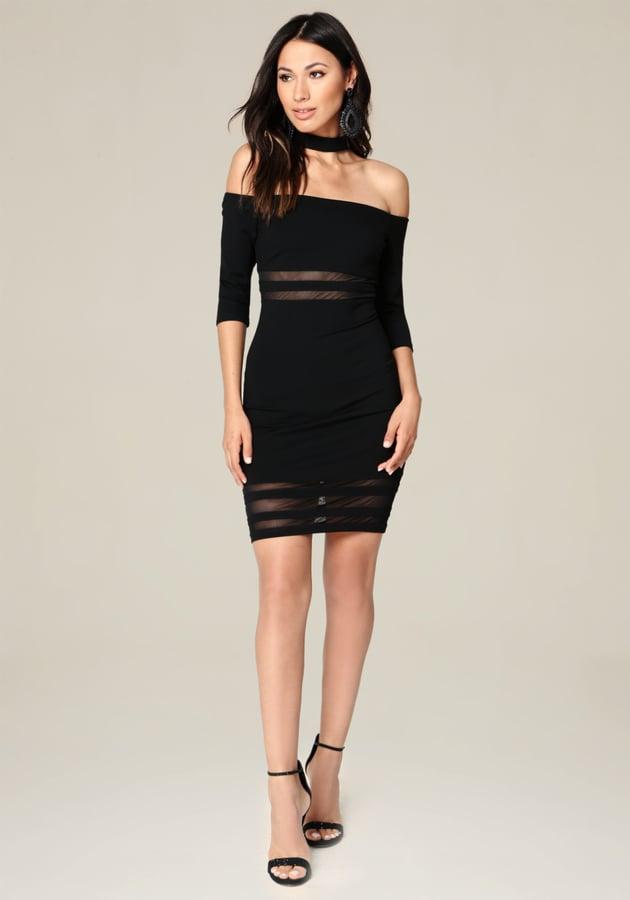 Bebe Ariella Choker Dress Sexy Dresses For Women Popsugar