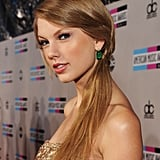 Taylor Swift Dazzles in Reem Acra For the AMAs