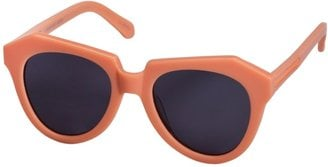 What more reason do I need to rock these awesome peach Karen Walker shades ($250) than the fact that Kate Hudson wore them in Barcelona?! OK, I'll give you one more: they'll make my face pop wherever I roam this Summer. — MN