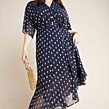 Hutch Loren Plus Wrap Maxi Dress
