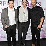 Joey, Matthew, and Andrew Lawrence