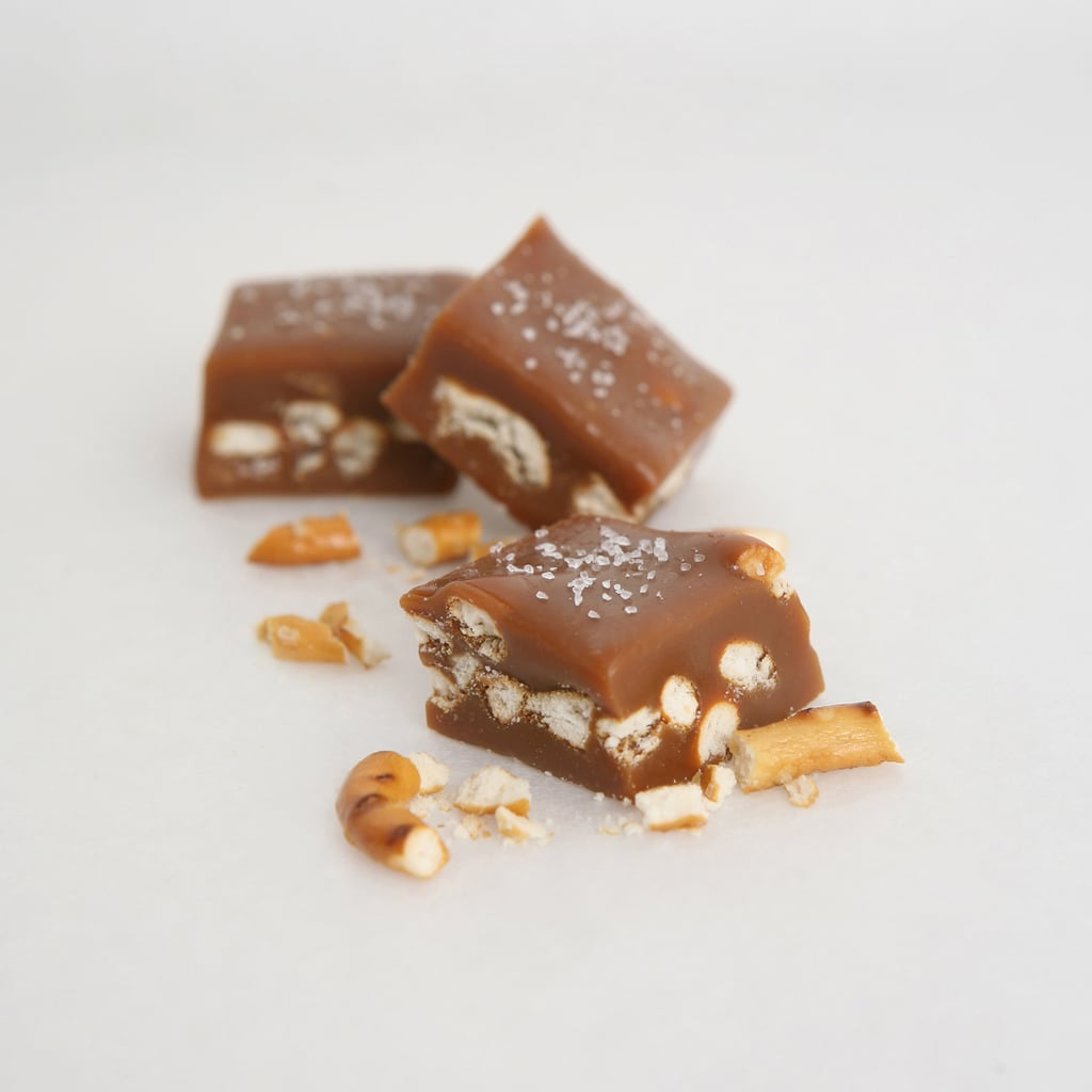 Beer-and-Pretzel Caramels