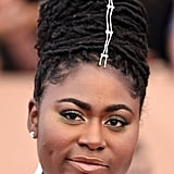 Danielle Brooks's Updo and Hair Jewelry Just Won the SAGs Red Carpet