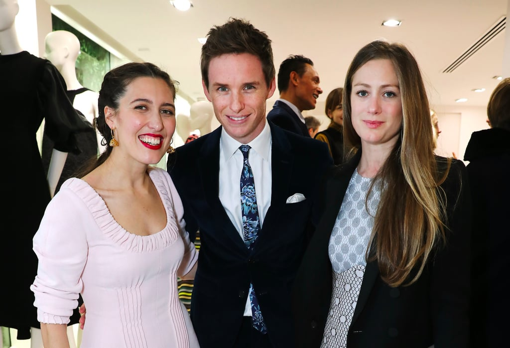Eddie Redmayne and Hannah Bagshawe at Emilia Wickstead Party