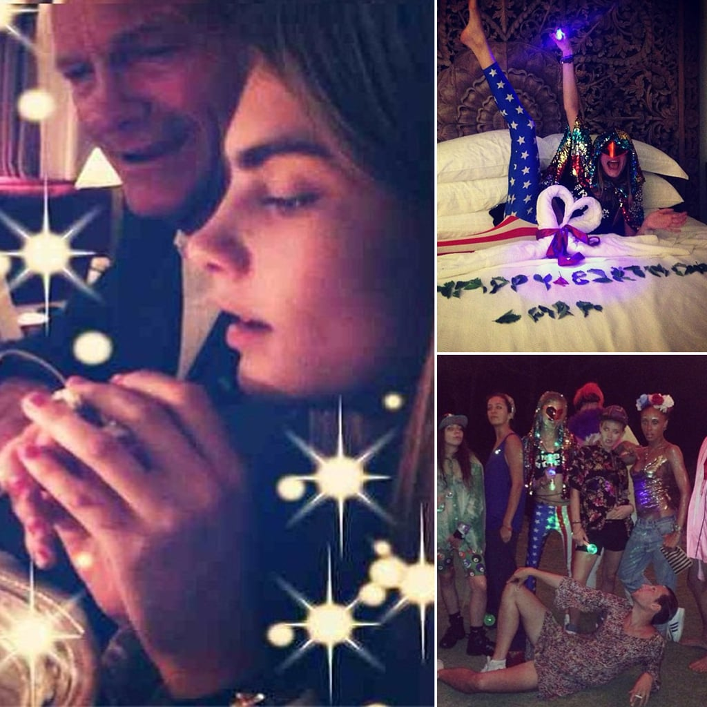 See How Cara Delevingne Celebrated Her 21st Birthday