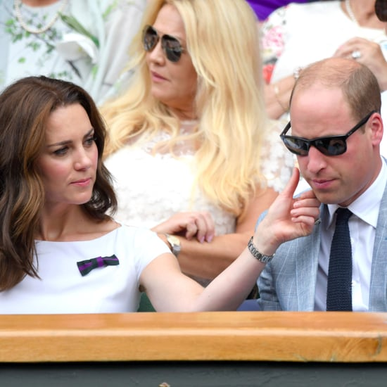 Prince William and Kate Middleton at Wimbledon Pictures 2017