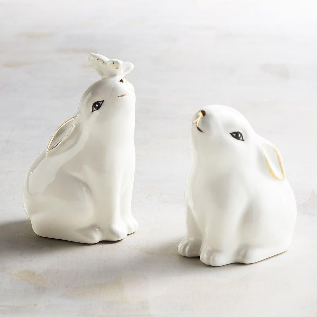 White Bunny Salt and Pepper Shakers ($8, originally $10)