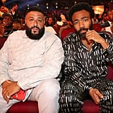 Pictured: DJ Khaled and Donald Glover