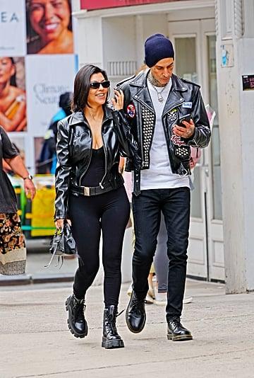 See Kourtney Kardashian's Engagement Ring From Travis Barker