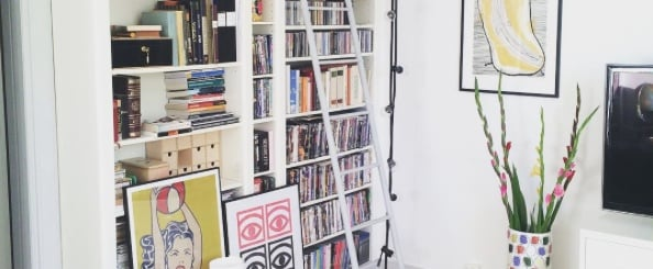35 Ways to Style Your Ikea Billy Bookcase