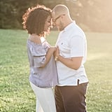 Sunset City Engagement Shoot
