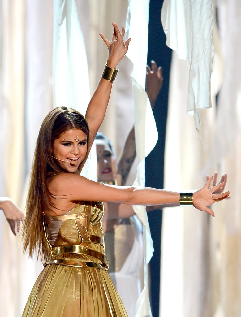 Selena Gomez danced during her Billboard Music Awards performance.