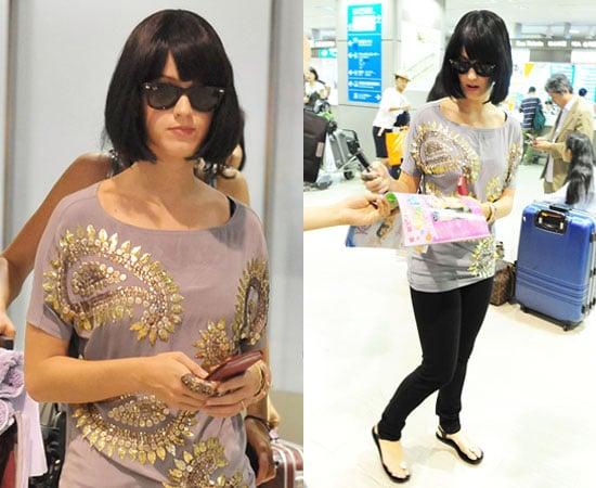Katy Perry at Tokyo Airport