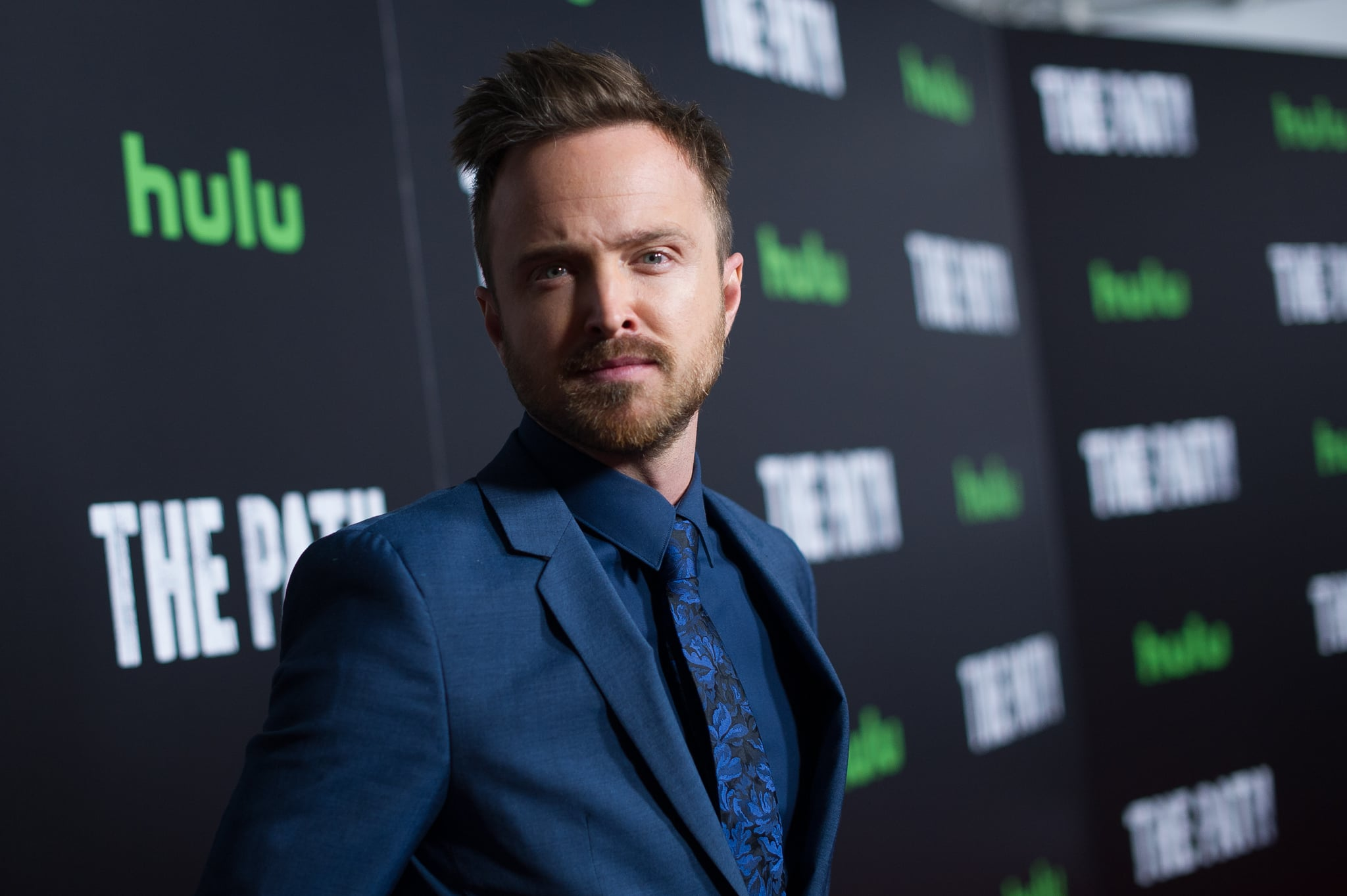 LOS ANGELES, CA - JANUARY 19:  Actor Aaron Paul attends the premiere of Hulu's 'The Path' Season 2 at Sundance Sunset Cinema on January 19, 2017 in Los Angeles, California.  (Photo by Emma McIntyre/Getty Images)