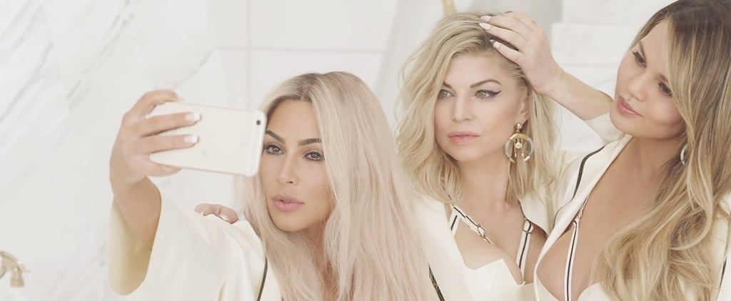 "Fergie's Sexy ""M.I.L.F. $"" Music Video Stars Kim Kardashian, Chrissy Teigen, and Ciara"