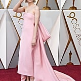 Saoirse Ronan at the Oscars 2018
