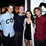 Bobby Coleman, Ciara Riley Wilson, and Friends in 2019