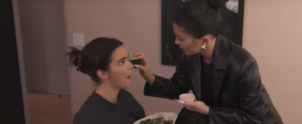 Kylie Jenner Does Kendall's Makeup Like a Pro