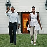 When She Looked Date-Night Ready With President Obama