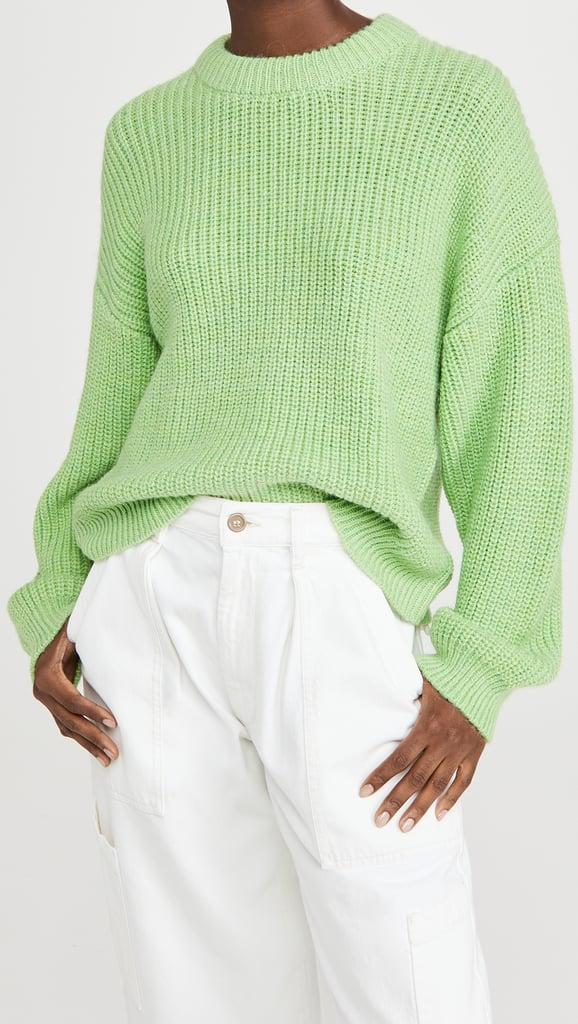 Scotch & Soda/Maison Scotch Soft Crew Neck Rib Knit Sweater