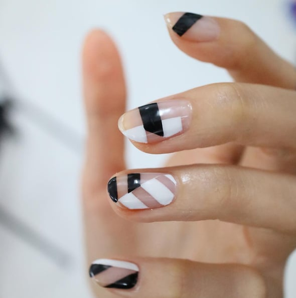 Negative-Space Nail Art Ideas | POPSUGAR Beauty
