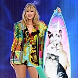 Taylor Swift at the 2019 Teen Choice Awards