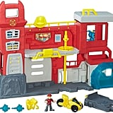 For 4-Year-Olds: Heroes Transformers Rescue Bots Griffin Rock Firehouse Headquarters