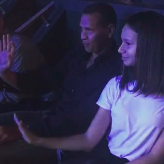 Alex Rodriguez and Daughter Dancing to Jennifer Lopez Video