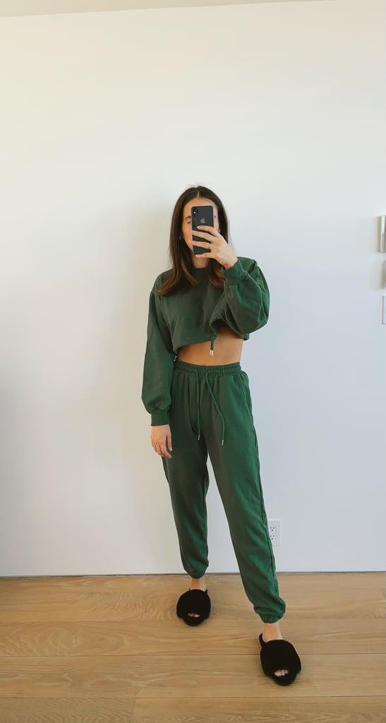 Forest Green Sweat Set