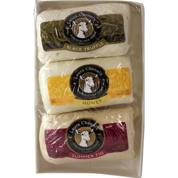 Laura Chenel's Chèvre Variety Pack Goat Cheese ($12 per pound)