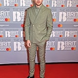 Roman Kemp at the 2020 BRIT Awards in London