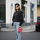How to Style Black Sweaters