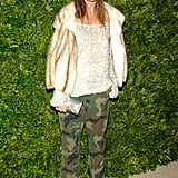 And those camo pants make another appearance!