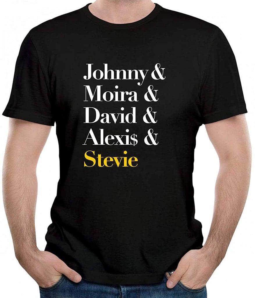 """Johnny & Moira & David & Alexis & Stevie"" T-Shirt"