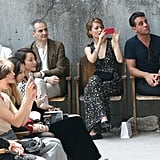They Kept Their Eyes on the Runway Front Row at the Chanel Show