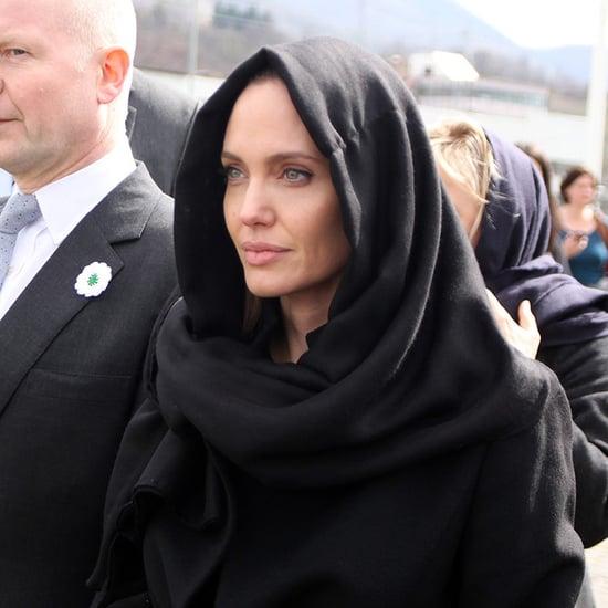 Angelina Jolie in Sarajevo | March 2014