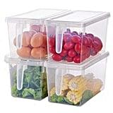 Kitchen Organiser Fridge Freezer Storage Bins