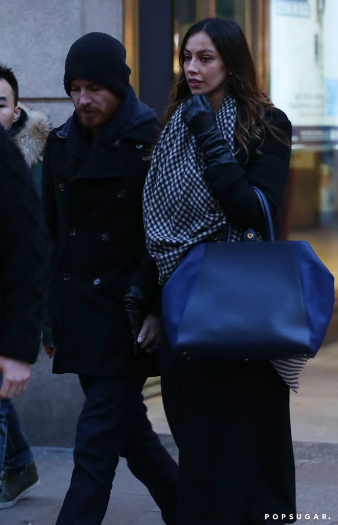 Michael Fassbender showed PDA with his rumored new girlfriend Madalina Ghenea in Milan on Wednesday. Madalina is no stranger to dating famous actors, as she previously had an on-again, off-again relationship with Gerard Butler — Madalina and Gerard had their own Italian getaway just last Summer! Michael hit up Italy after taking the Globes by storm on Sunday, mingling with Jonah Hill and having a dance-off with Benedict Cumberbatch at an afterparty. His date with Madalina came just a day before he landed his first Oscar nomination for his role as evil slave owner Edwin Epps in 12 Years a Slave. Michael may be back in the States very soon, as he is nominated for outstanding performance by a male actor in a supporting role and outstanding performance by a cast at Saturday's SAG Awards.
