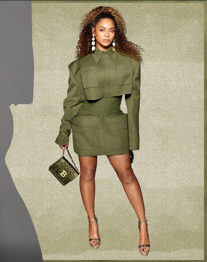 Beyoncé's Balmain Outfit
