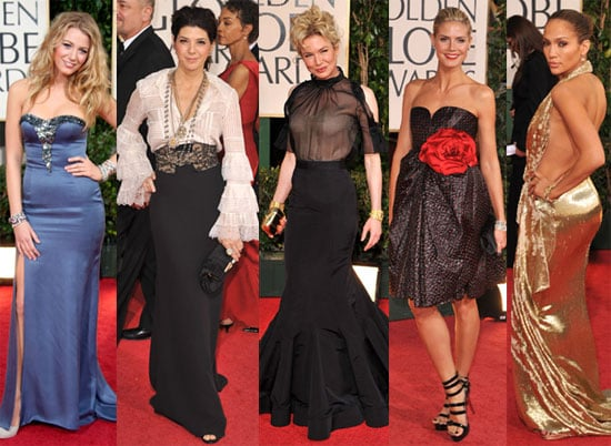Who Do You Think Was the Worst Dressed at the Golden Globes?