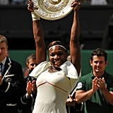Serena Takes the Platter