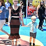 Anna Faris and Son Jack on the Red Carpet July 2017