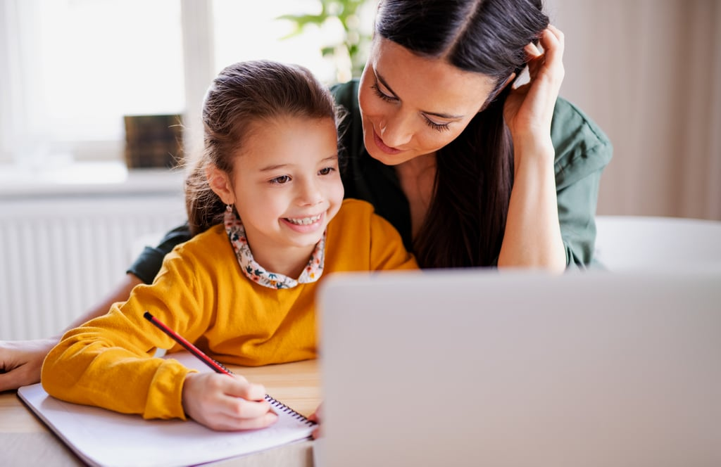 Help with your child's homework.