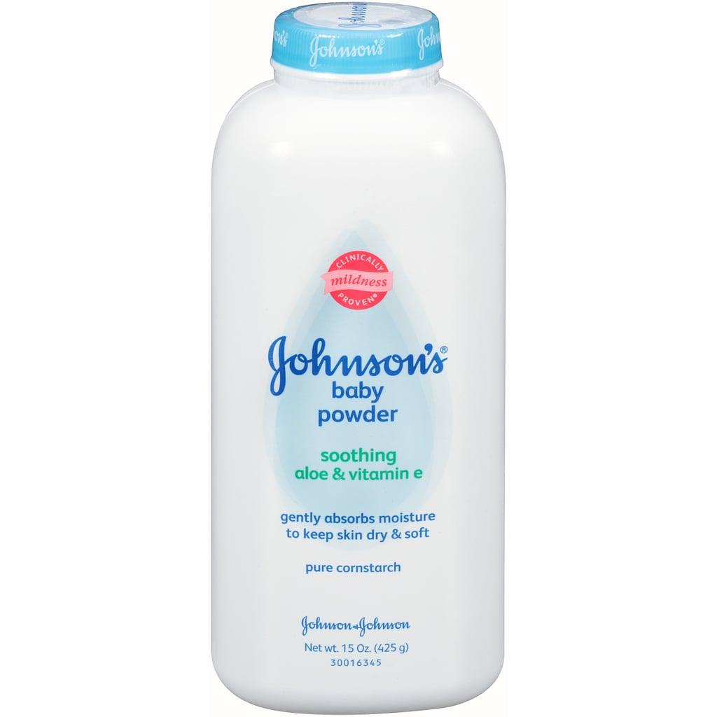 Johnson's White Baby Powder with Cornstarch