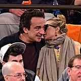 Mary-Kate Olsen and Olivier Sarkozy shared a secret.